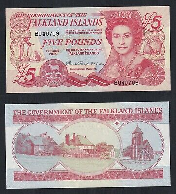 Isole Falkland 5 pounds 2005 FDS-/UNC-  A-10