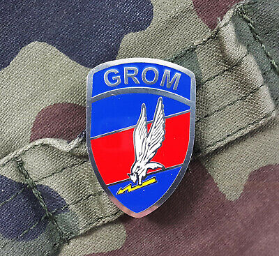 Authentic Military Pin / Badge Polish Army Special Forces Jw 2305 Grom - Poland