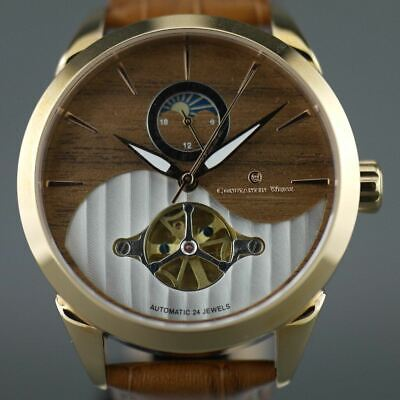 Constantin Weisz 24 jewels Gent's gold plated Automatic wrist watch Day Night an