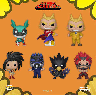 Funko My Hero Academia All Might Teacher Momo Eijiro Fumikage Himiko All for One