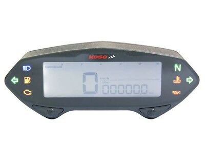 Koso Multifunctional Speedometer DB-01RN with E-mark