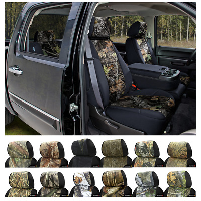 Coverking Mossy Oak Camo Custom Fit Seat Covers For Nissan Xterra
