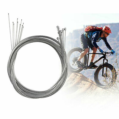10 Bicycle Shift Shifter Derailleur Gear Stainless Steel Rear Inner Cable Wire