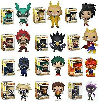 Pre-Order Funko Pop My Hero Academia : All Might, Momo, Eijiro, Fumikage, Himiko