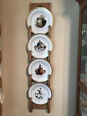 Norman Rockwell Plates and Cups