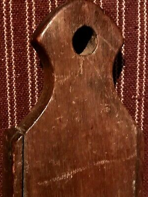 Antique Primitive Farm Kitchen Wall Mount Wood & Metal Slicer Cutter  AAFA