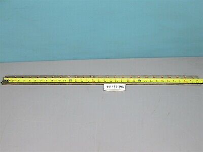 "Westinghouse Rectangle Copper Bus Bar Drilled 34 5/8"" Long 2"" Wide 1/4"" Thick"
