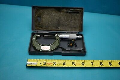 "Used Mitutoyo 0-1""  112-285 Point Micrometer"