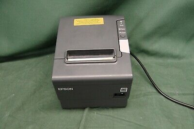 Epson TM-T88V Thermal POS Ethernet Printer M244A w/Ac Adapter #2762