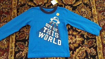Gymboree Toddler Boy Space Out of This World  GLOW t-shirt size 2T NWT top boys