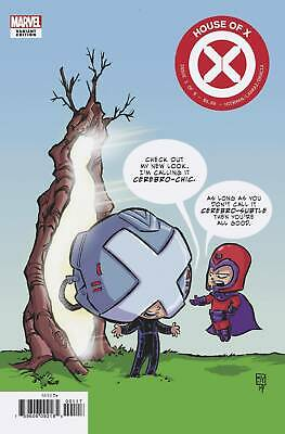 HOUSE OF X #1 MARVEL COMICS Skottie Young VARIANT 2019 EB46 OF 6