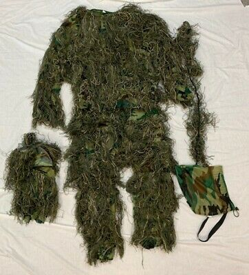 Woodland Camo Hunting Ghillie Suit