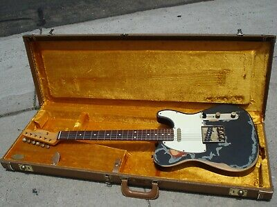 "Fender Artist Series Joe Strummer ""The Clash"" Relic Telecaster with Fender Case"