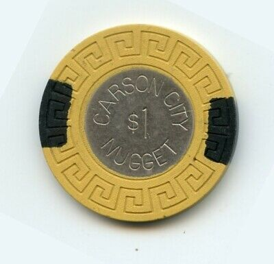 1.00 Chip from the Carson Nugget Casino in Carson City Nevada Coin