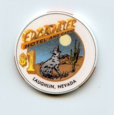 1.00 Chip from the Edgewater Casino in Laughlin Nevada