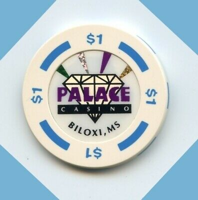 1.00 Chip from the Palace Casino in Biloxi Mississippi