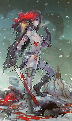 RED SONJA #1 (HOT Virgin Variant Dynamite comics) Only 500 copies printed... NM+