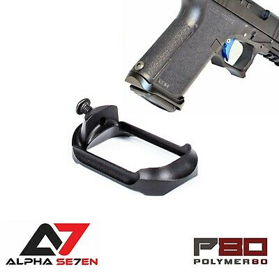 ALPHA SE7EN COMPACT Aluminum Flared Magwell for Polymer 80 PF940C | PF940V2  P80