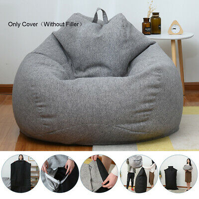 Peachy Adults Soft Sofa Kid Large Bean Bag Chairs Sofa Cover Indoor Ibusinesslaw Wood Chair Design Ideas Ibusinesslaworg