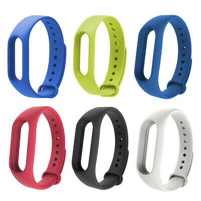 Replacement Original TPU Strap Wrist Band For Xiaomi Mi Band 2 Smart Bracelet FP