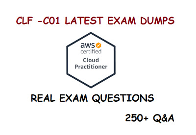 AWS Certified Cloud Practitioner CLF-C01 exam dumps  questions and answers.