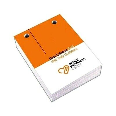 OPD 2019 Desk Calendar Refill Day To Page 76 x 102mm Top Hole Punch 7005938