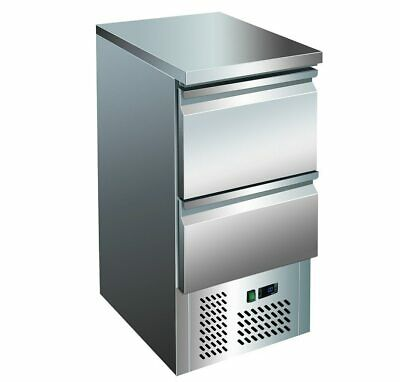 GNS400-2D 2 Drawers Stainless Steel Workbench Fridge