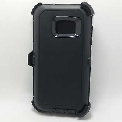 Samsung Galaxy S7 - Shockproof Tough Full Shell Case Clip Fits Otterbox Defender