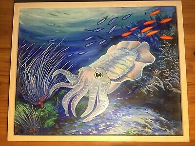 Squid painting