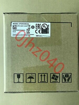 1PC New Delta inverter VFD004M23A 220V 0.4KW