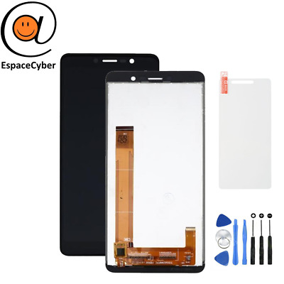 LCD + Ecran tactile Wiko Tommy 3 Noir / Outils / Protection