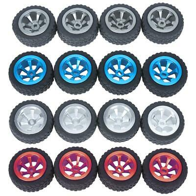 Wheel Tyre Rubber Tire With Aluminum Hub Mount Fits for WLtoys K969 RC Car Toy