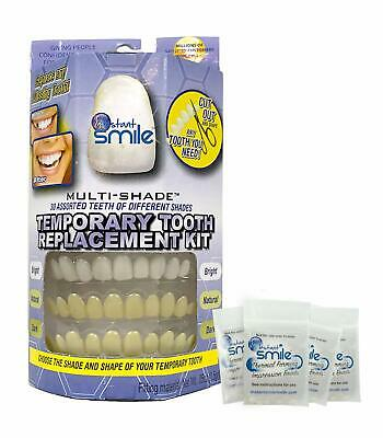 Instant Smile Multi-Shade Patented Temporary Tooth Repair Kit with 4 Bead Packs