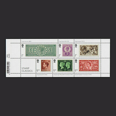 2019 Stamp Classics Miniature Sheet with Barcode