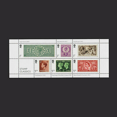 2019 Stamp Classics Miniature Sheet without Barcode