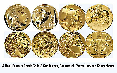 Percy Jackson Book Fans, 4 Top Gods/Goddesses,Parents of Percy's Characters (G)
