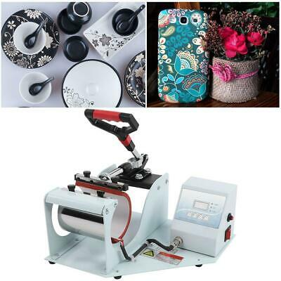 Time/Pressure/Temperature Control Sublimation Mug Heat Press Transfer Machine
