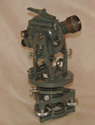 Hilger & Watts Theodolite 50s, with accessories