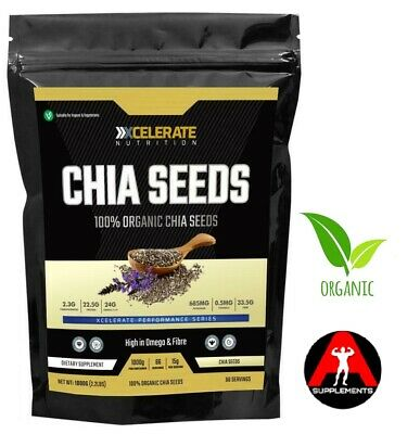 Chia Seeds Natural Weight Loss & Detox With Raw Whole Chia 250G/500G/1KG/2KG