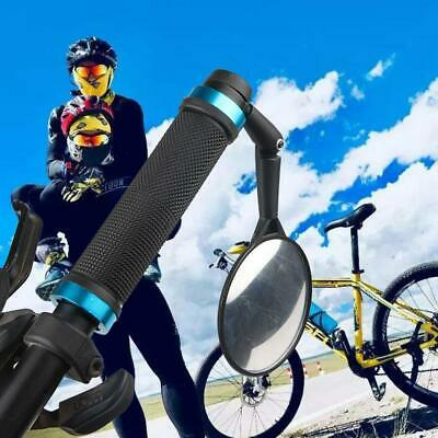 360 Degree Rotate Rearview Handlebar Convex Mirror For Bicycle OK 01