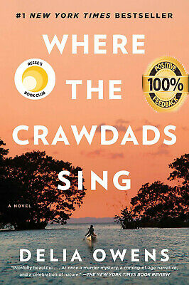 Where the Crawdads Sing by Delia Owens, 🔥#1 NEW YORK TIMES BESTSELLER 🔥