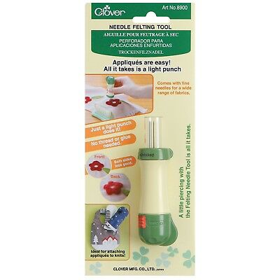 Clover Needle Felting Tool Handle  With Safety Locking Device - Cl8900