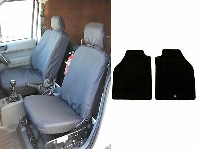 Van Demon Tailored Fit Black Driver and Front Passenger with Armrest Seat Covers VY60630