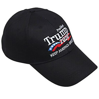 Donald Trump 2020 Keep Make America Great Cap President Election Hat Black Hot R