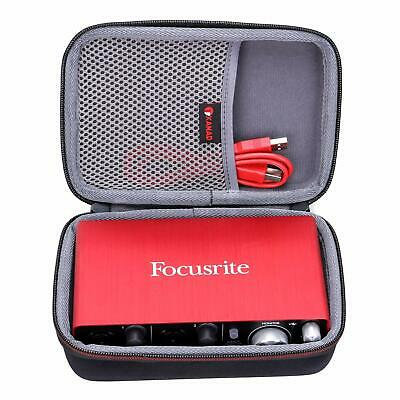 Case Compatible Focusrite Scarlett Solo 2i2 &amp 2nd Gen USB Audio Interface