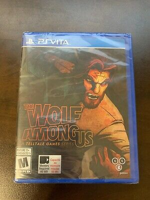 The Wolf Among Us - PS Vita - Brand New - Factory Sealed
