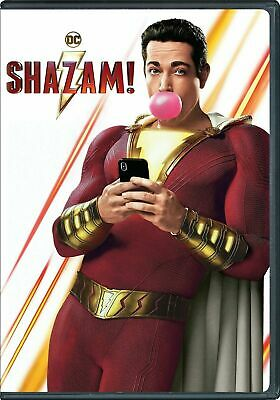 Shazam! DVD 2019 - Brand New! FREE SHIPPING!  **AUTHENTIC**