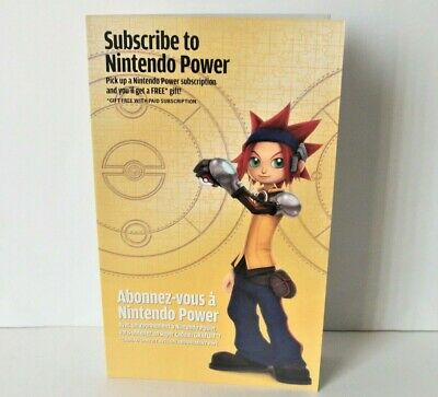 Pokemon XD Nintendo Power Insert Only NO GAME GameCube Subscription Darkness