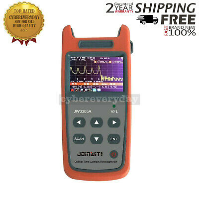 Mini Optical Time Domain Reflectometer OTDR Built-in Visual Fault Locator dt55