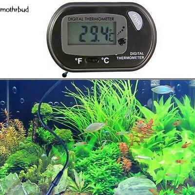 LCD Digital Fish Tank Reptile Aquarium Water Meter Thermometer Temperature M5BD
